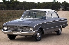 Ford Falcon XK Saloon