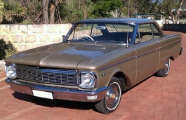Ford Falcon XP Hardtop