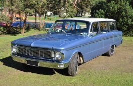 Ford Falcon XP Station Wagon