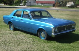 Ford Falcon XY Saloon
