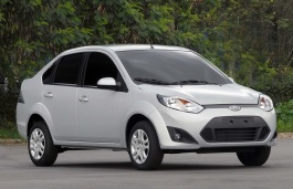 Ford Fiesta V Facelift Седан