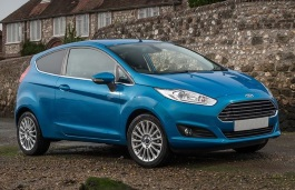 Ford Fiesta VI Facelift Hatchback