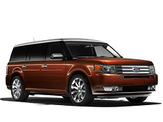 Ford Flex D4 Closed Off-Road Vehicle