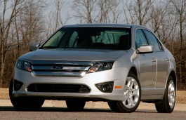 Ford Fusion I Facelift Berline