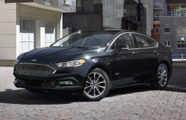 Ford Fusion II Facelift Berline