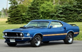 Ford Mustang Mach 1 I Fastback