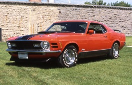 Ford Mustang Mach 1 I Restyling Fastback