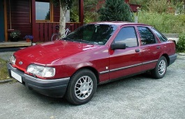 Ford Sierra Facelift Hatchback