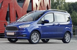 Ford Tourneo Courier wheels and tires specs icon
