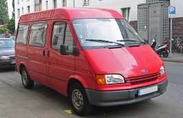 Ford Transit II Facelift Van