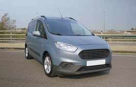 Ford Transit Courier Facelift Box