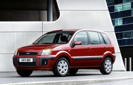 Ford Fusion I (EU) Restyling Hatchback