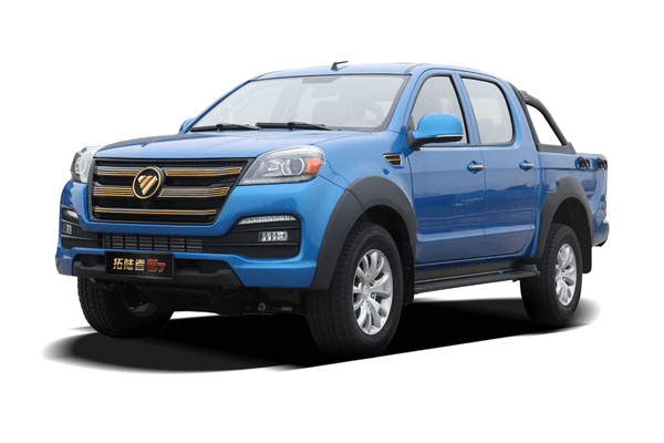 Foton Tunland E7 wheels and tires specs icon