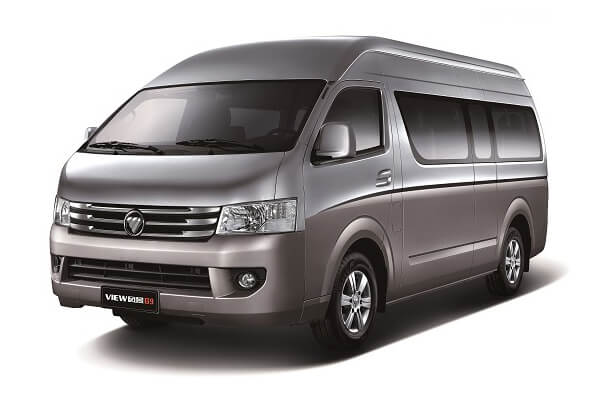Foton View G9 wheels and tires specs icon