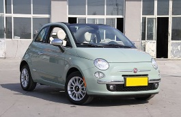 GAC Fiat 500 wheels and tires specs icon