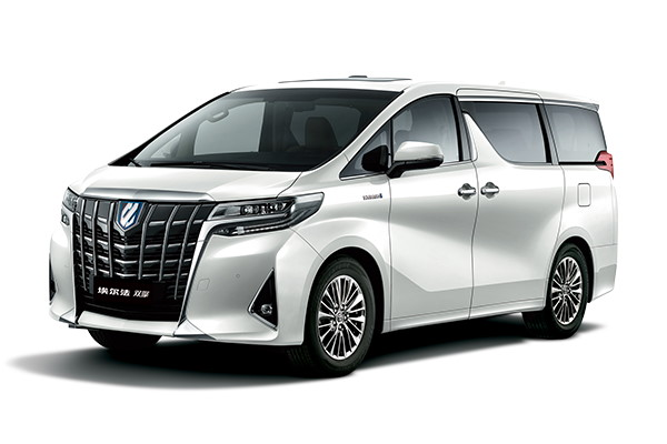GAC Toyota Alphard wheels and tires specs icon
