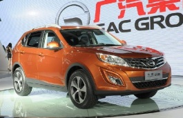 GAC Trumpchi GS5 wheels and tires specs icon