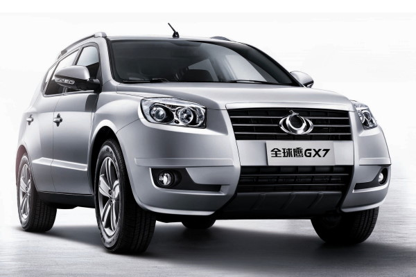 Geely GX7 wheels and tires specs icon