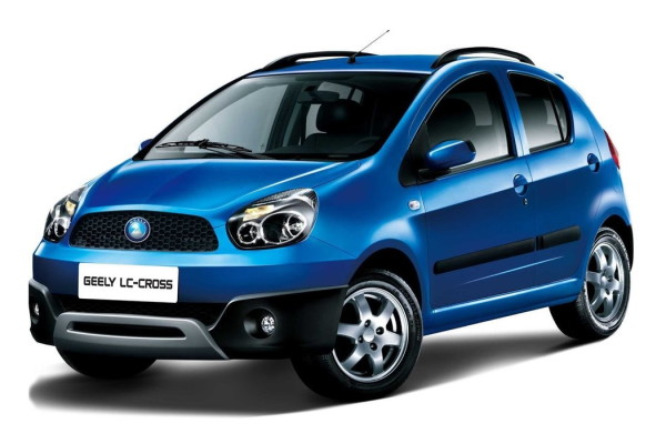 Geely LC Cross wheels and tires specs icon