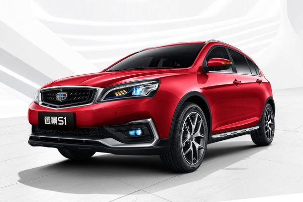 Geely Vision S1 Facelift ハッチバック