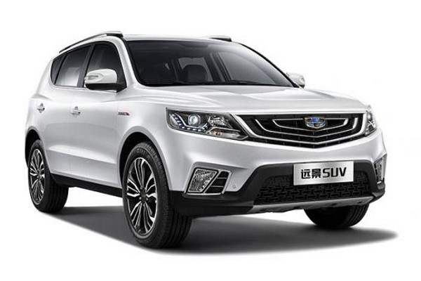 Geely Vision SUV wheels and tires specs icon