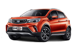 Geely Vision X3 wheels and tires specs icon