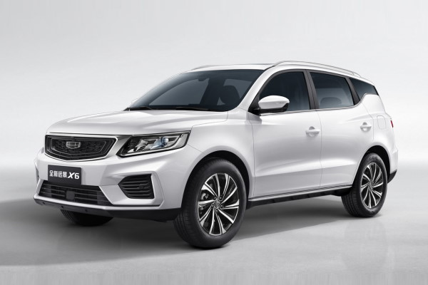 Geely Vision X6 wheels and tires specs icon