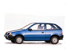 opony do GEO Metro GM M [1989 .. 1994] [USDM] Hatchback, 3d
