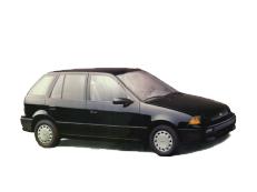 opony do GEO Metro GM M [1989 .. 1994] [USDM] Hatchback, 5d