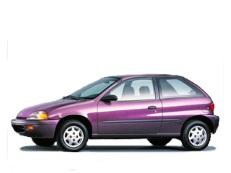opony do GEO Metro GM M Fl [1995 .. 2001] [USDM] Hatchback, 3d