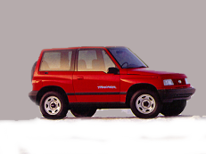 GEO Tracker I Closed Off-Road Vehicle