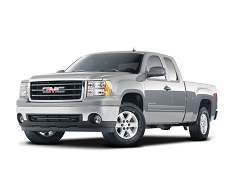 GMC Sierra 1500 GMT900 Extended Cab