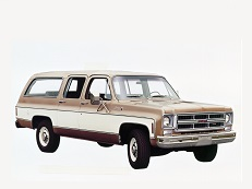 GMC Suburban 2500 C/K series Closed Off-Road Vehicle