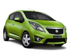 Holden Barina Spark wheels and tires specs icon