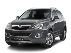 Holden Captiva 5 wheels and tires specs icon