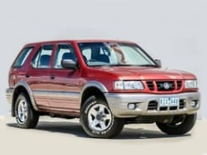 Holden Frontera wheels and tires specs icon