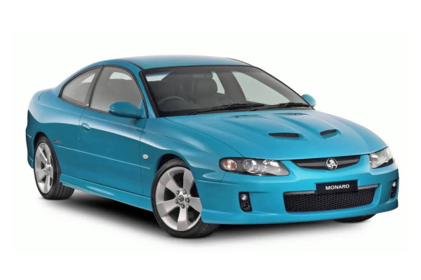 Holden Monaro wheels and tires specs icon