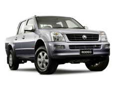 Holden Rodeo wheels and tires specs icon
