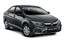 Honda Ballade wheels and tires specs icon