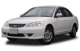 opony do Honda Civic Ferio ES Restyling [2003 .. 2005] [JDM] Saloon