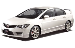 Honda Civic Type R wheels and tires specs icon