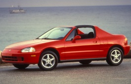 Honda Del Sol wheels and tires specs icon