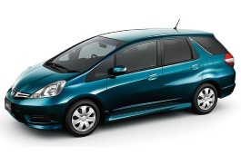 Honda Fit Shuttle wheels and tires specs icon