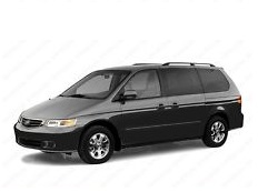 opony do Honda Odyssey RL1 [1998 .. 2004] [USDM] MPV, 5d