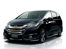 honda odyssey 2014 wheel tire sizes pcd offset and rims specs wheel. Black Bedroom Furniture Sets. Home Design Ideas