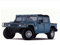 Hummer H1 HMC Open Off-Road Vehicle