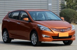 Hyundai Accent RB Restyling Hatchback