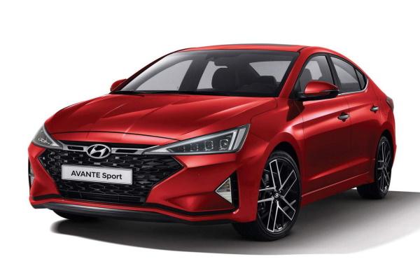 Hyundai Avante wheels and tires specs icon