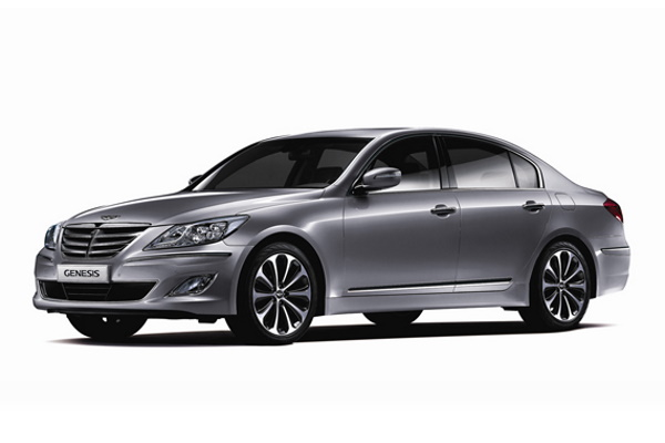 Hyundai Genesis wheels and tires specs icon
