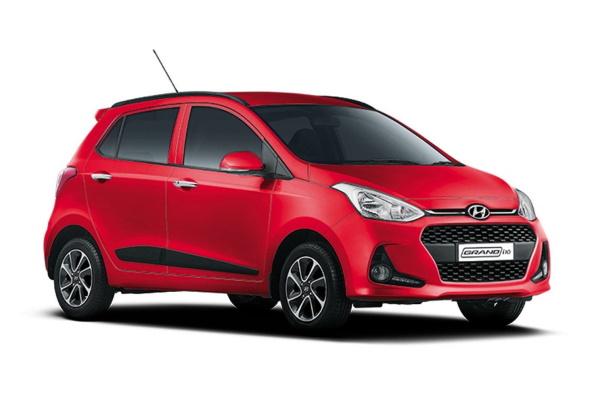 Hyundai Grand i10 wheels and tires specs icon